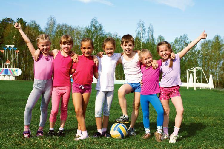 Kinderen sportclub