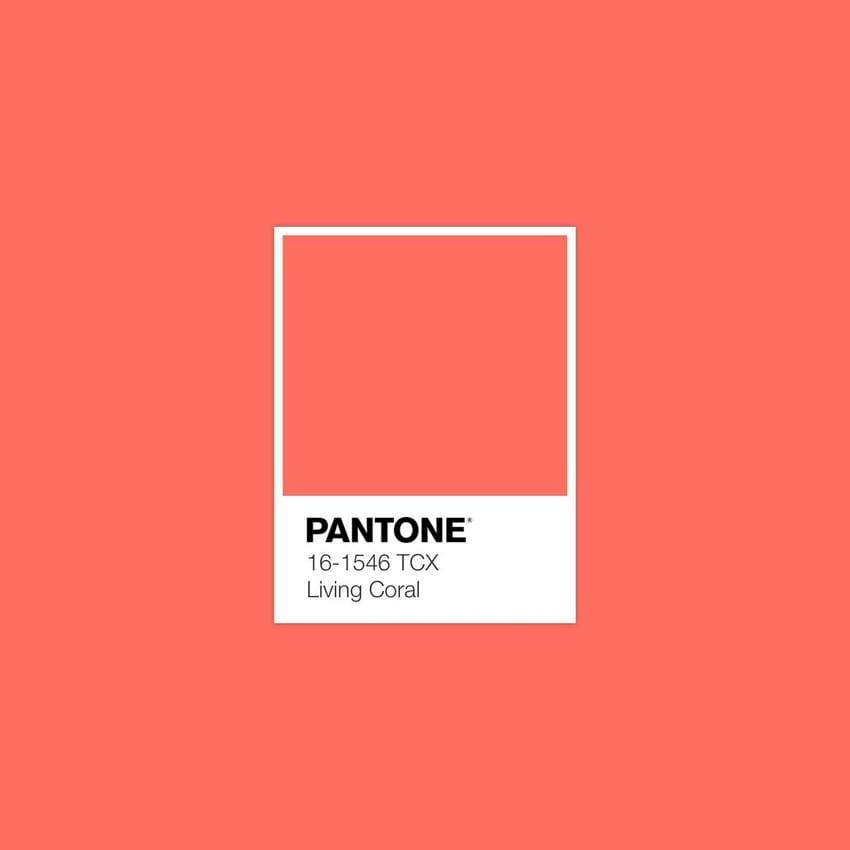 PANTONE kleur van het jaar 2019 - Living Coral