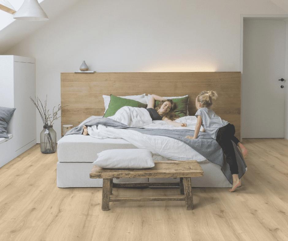 PVC in de slaapkamer